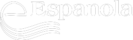 Town of Espanola logo (white)
